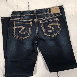 Silver Jeans! Size 30. Suki Mid bootcut
